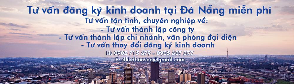 Dịch vụ thành lập doanh nghiệp tại Đà Nẵng trọn gói