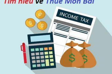 thuế môn bài là gì